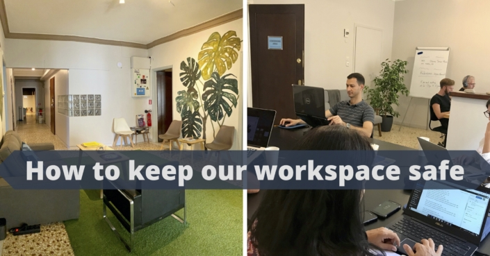 Protective Measures for COVID at a Coworking Space